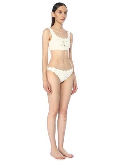Marysia Bikini Üst Beyaz